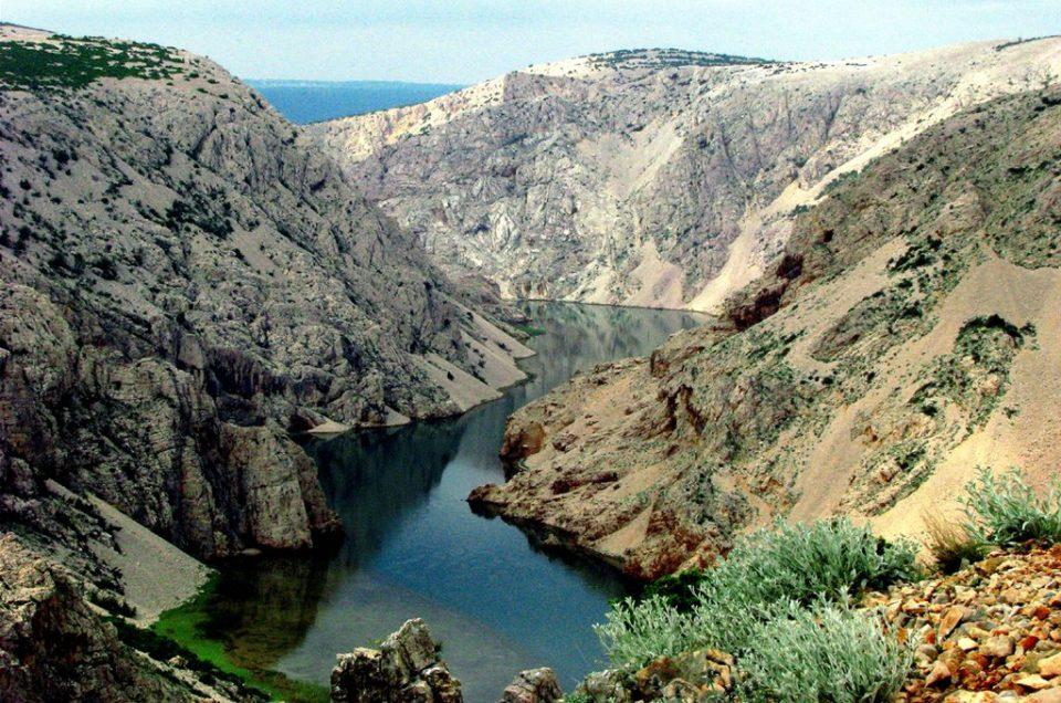 Pływamy w Chorwacji - czyli wspomnienia z wakacji - Kanion rzeki Zrmanja