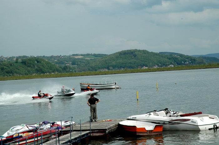 Rozpoczęcie sezonu Motorowodnego 2012 w Małopolsce – Tęgoborze Jezioro Rożnowskie