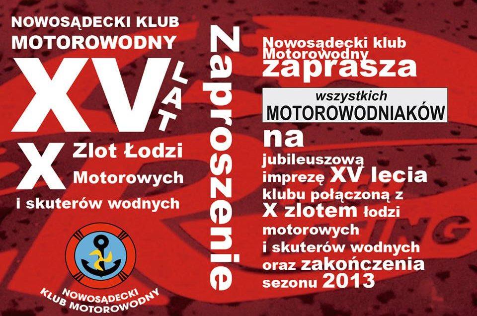 Uroczyste Zakończenie Małopolskiego Sezonu Motorowodnego – 2013