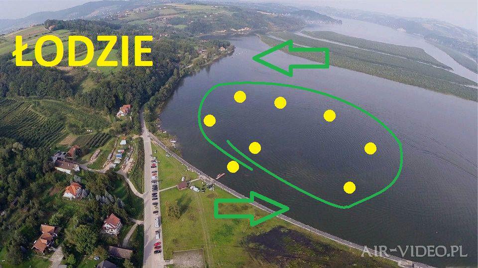 Trasa wyścigów łodzi motorowych