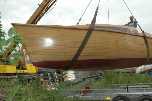 Budowa jachtu drewnianego – Pasja 800