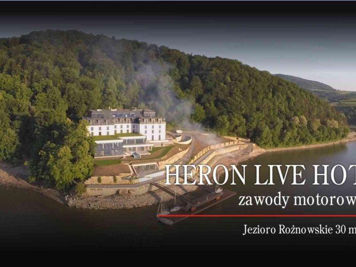 Zapraszamy na Zawody Motorowodne o Puchar Heron Live Hotel 2016