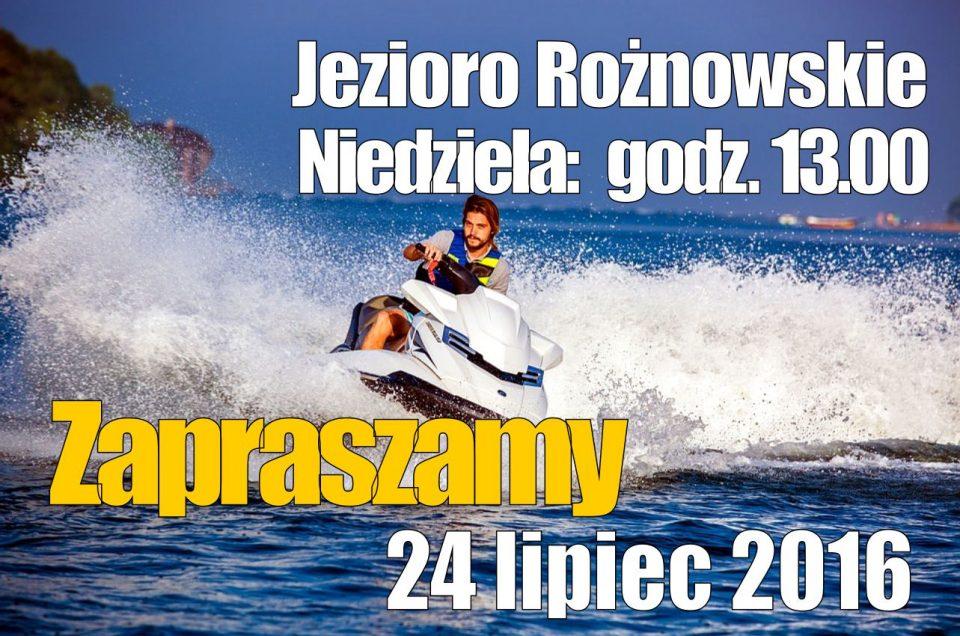 Zapraszamy nad Jezioro Rożnowskie - kolejna impreza motorowodna 2016