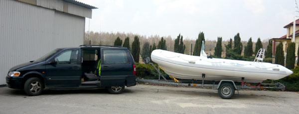 Test Chińskiego RIB-a PRO WAVE - 520 ::Rigid Inflatable Boat ProWave 520