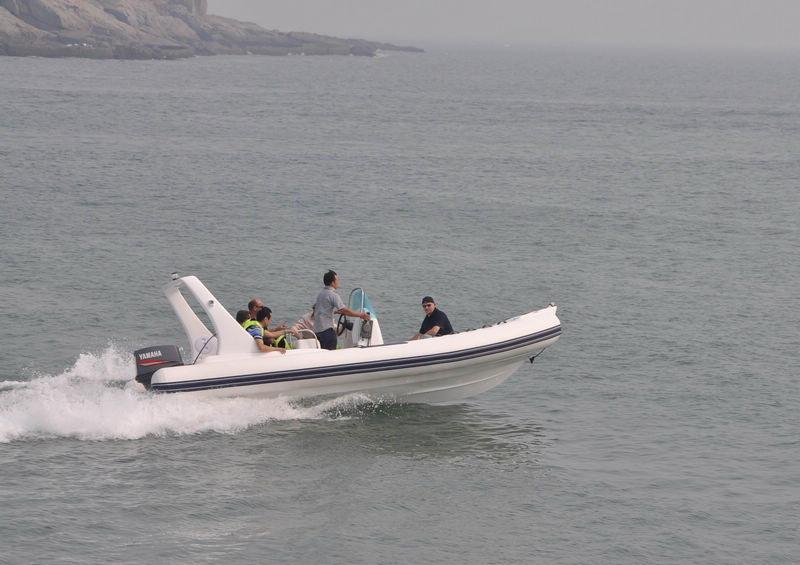 Rib 580 na wodzie