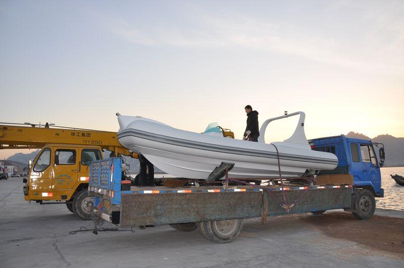 Rigid Inflatable Boat – Chińskie RIB-y 2011 – czy coś się zmieniło?