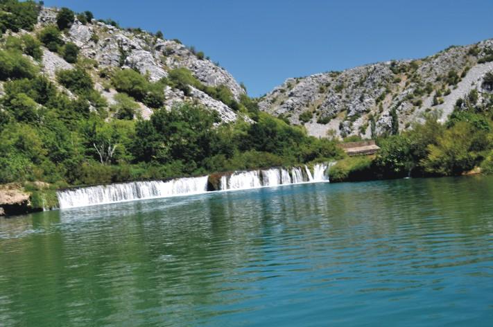 Wodospad na Rzece Zrmanja