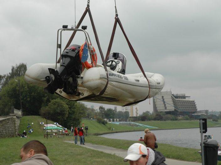 Zawody motorowodne na Wiśle (2008)