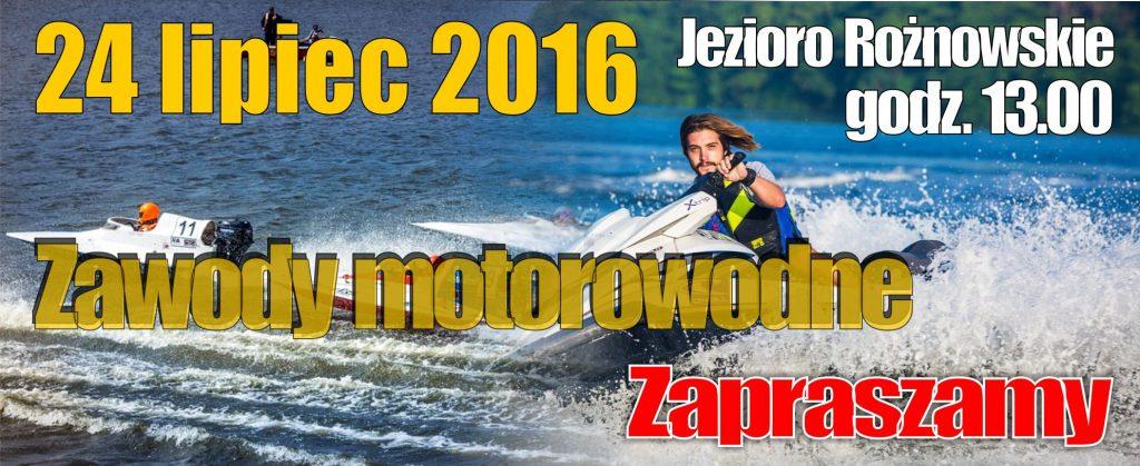 Zapraszamy na zawody motorowodne nad jezioro rożnowskie